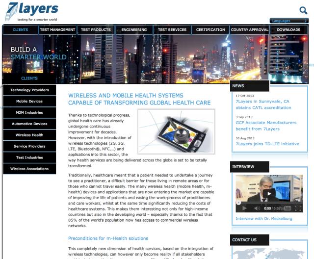 7 Layers website
