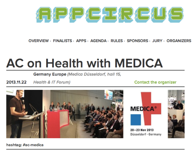 AppCircus on Health at Medica 2013