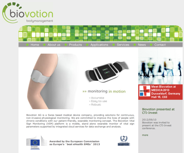 Biovation Website