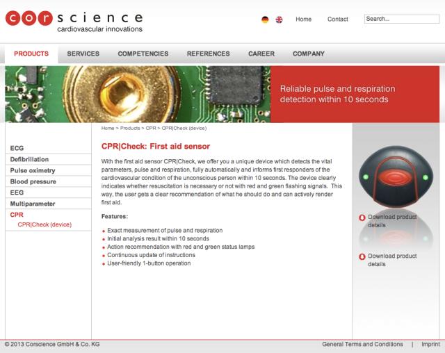 Corscience Website