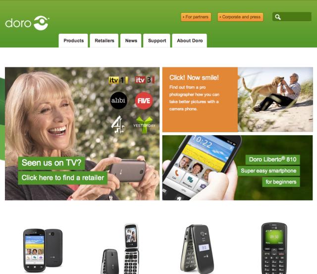 Doro Website