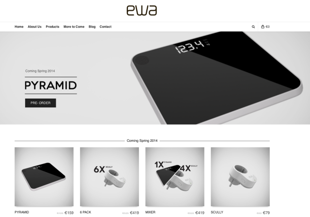 EWA Solutions Website