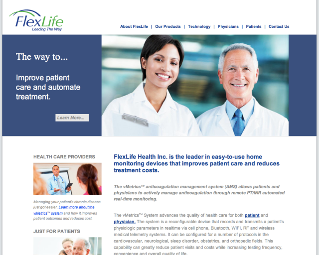 FlexLIFE Health Website