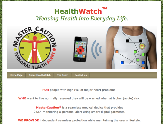 HealthWatch Website