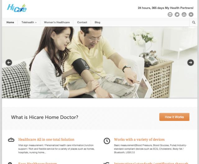 HiCare Website