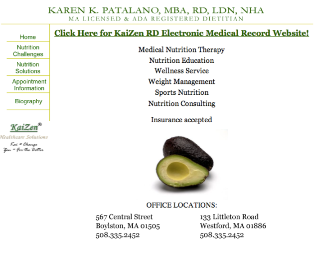 KaiZen Healthcare Solutions Website