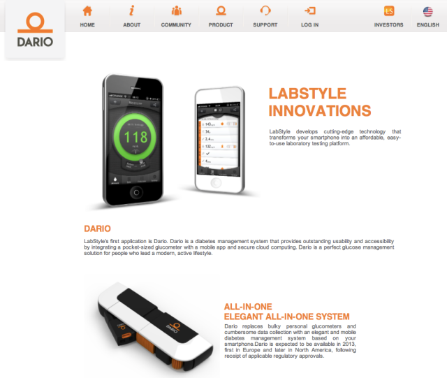 Labstyle Innovations MyDario Website