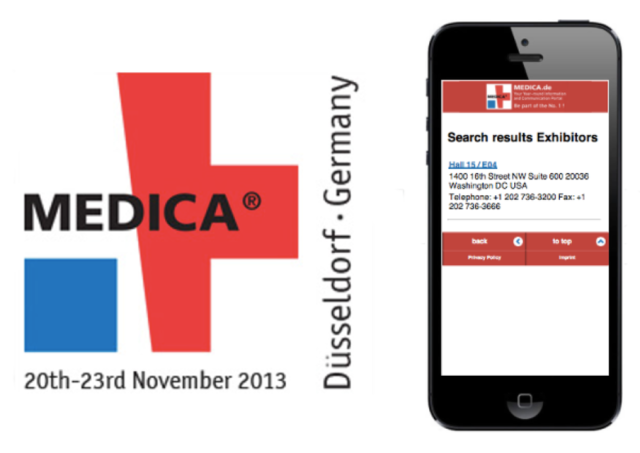 mHealth at Medica 2013