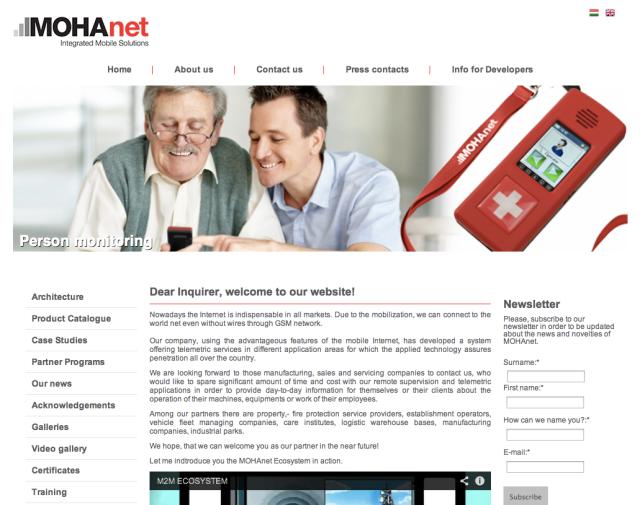 Mohanet Website