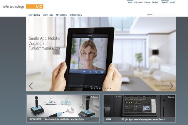User Interface Design Website
