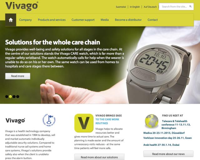 Vivago Website