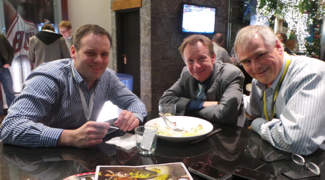 A quick refuel with Dr Chris Bickford and Stephen Lieber #mHealth13