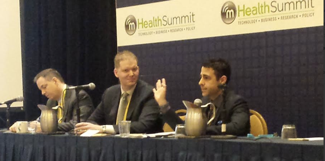 HealthcareITNews Breakfast mhealth13