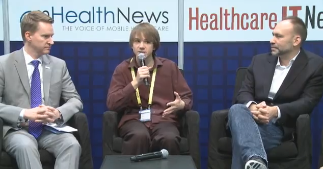 Jack Andraka on panel at the mHealth Plus Social #mHealth13