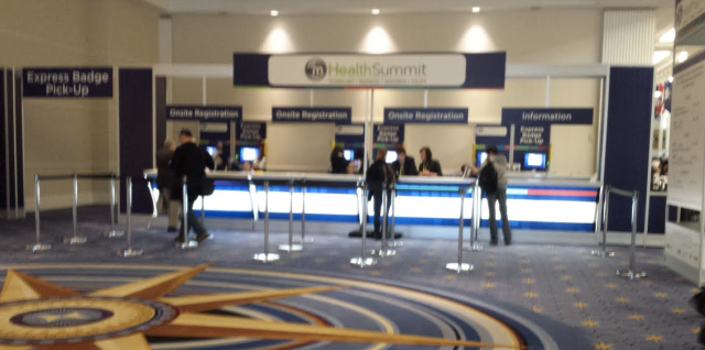 Registration centre for the mHealth Summit 2013