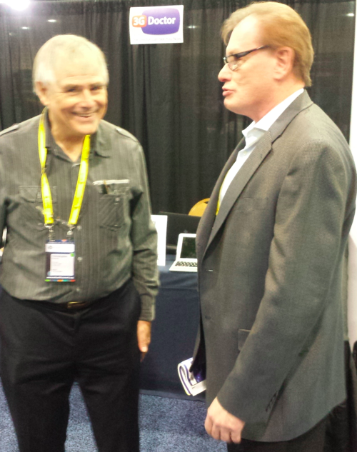 Richard Fury MD visits 3G Doctor booth #mHealth13