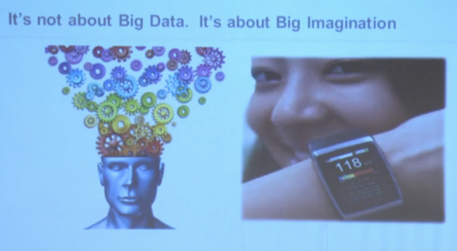 Big Imagination or Big Data