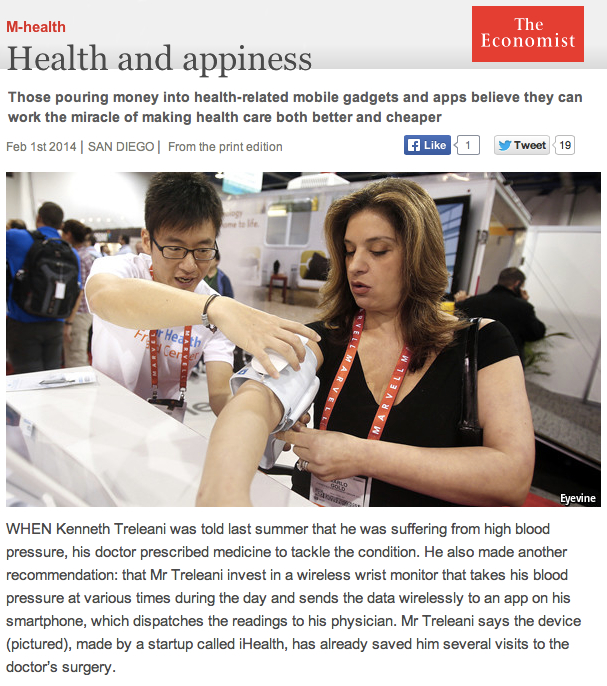 Economist mHealth Health and Appiness