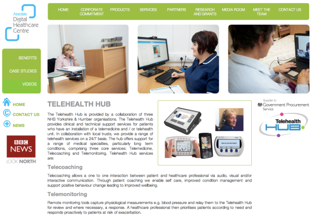 NHS Airedale Digital Healthcare Centre