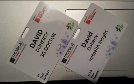 David Dohertys MWC14 Pass x2