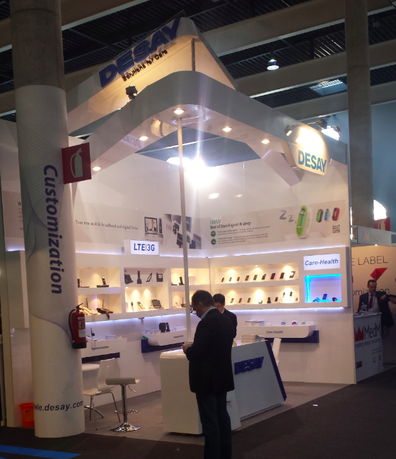 Desay booth MWC14