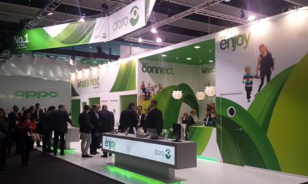 Doro booth at MWC14