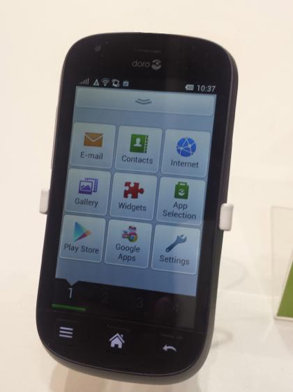 Doro Experience on Doro Android Smartphone