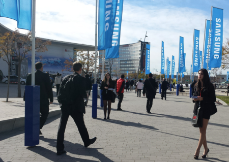 Entrance to MWC 14