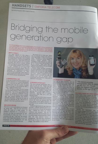 Eveline Pupeter Emporia Telecom Bridging the mobile generation gap MWC14 Daily