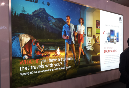 Huawei 4G LTE Advert #MWC14