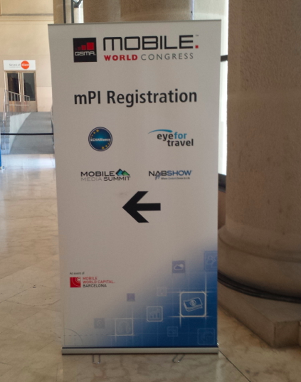 mPI Registration being promoted extensively at MWC14 registration but very few delegates are signing up to the Health and Wellness stream