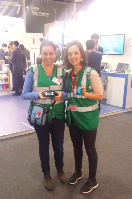 #MWC14 Nurses were fascinated by mHealth tech
