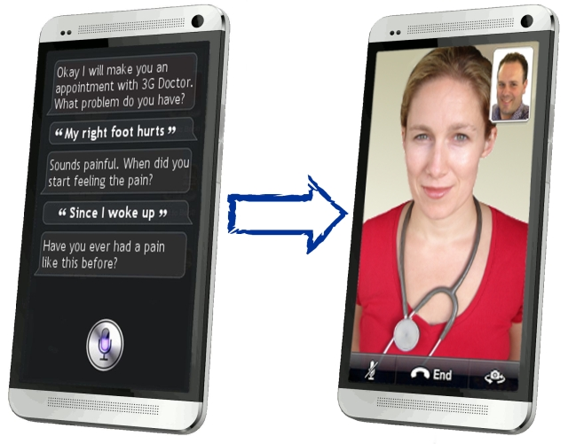 Natural Language Interface for 3G Doctor