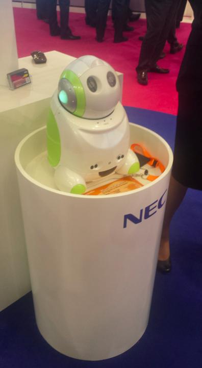 NEC Papero Robot MWC14