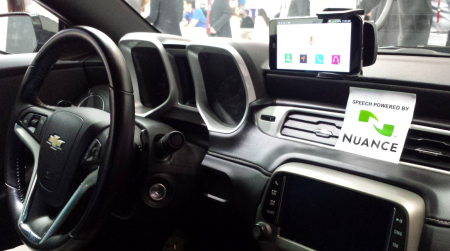 Nuance demos were everywhere at MWC14