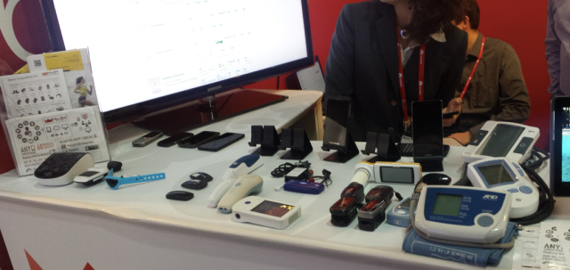 Some of medical devices that MedM Platform works with MWC14
