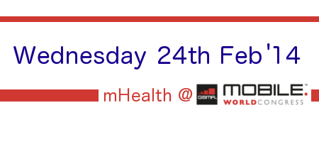 Wednesday mHealth at Mobile World Congress