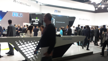 ZTE Booth #MWC14