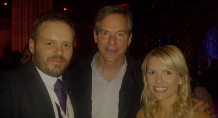 3GDoctors David Doherty with Qualcomms Paul Jacobs and Partner #MWC14