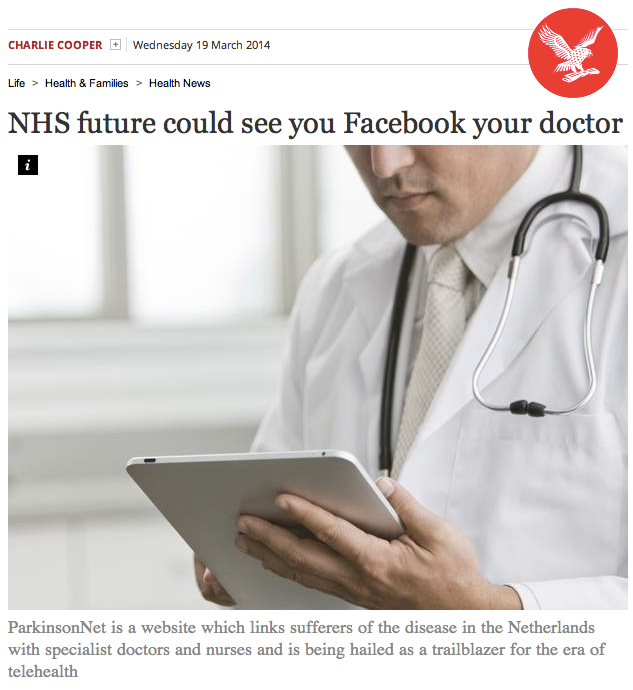 Charlie Cooper Independent NHS Future could see you Facebook your Doctor