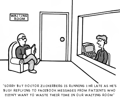 DOCTOR ZUCKERBERGS WAITING ROOM