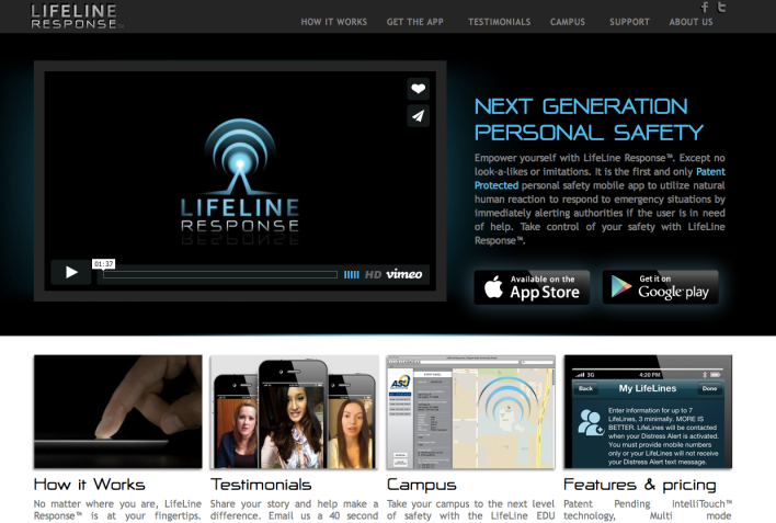 Lifeline Response Website