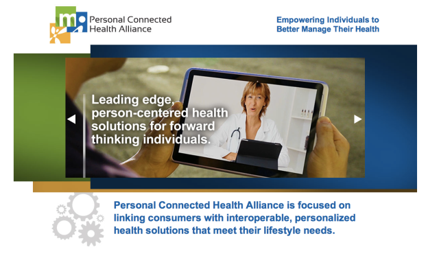 Personal Connected Health Alliance Website