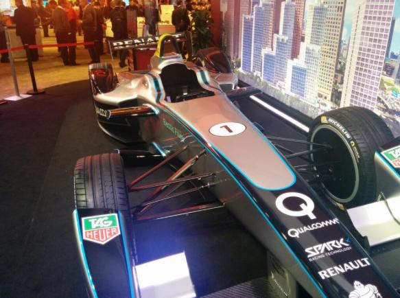 Qualcomm Formula E Car #MWC14