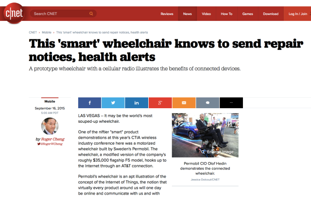 $35,000 wheelchairs still dont have embedded connectivity M2M