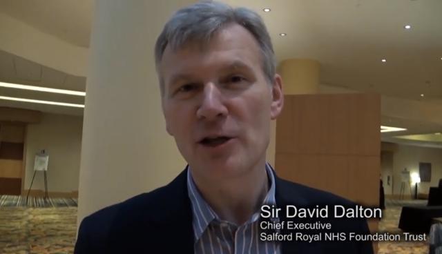 Sir David Dalton CEO Salford Royal NHS Foundation Trust