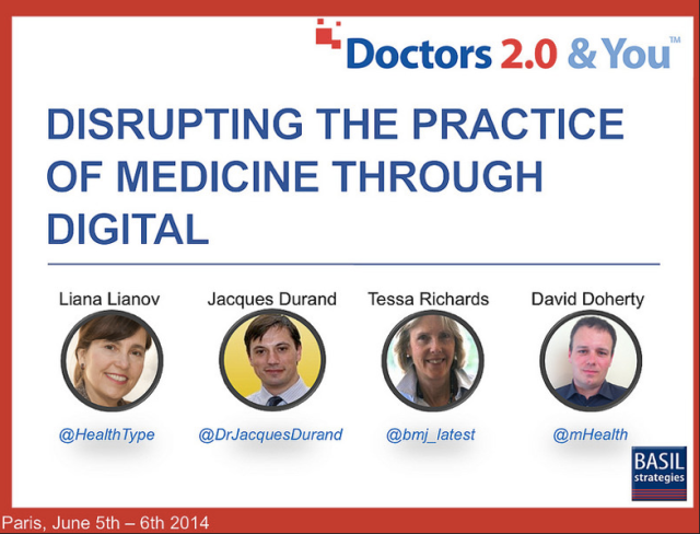 Doctors20 Disrupting the Practice of Medicine through Digital