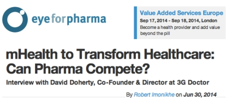 EyeforPharma mHealth to Transform Healthcare interview with David Doherty