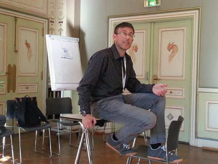 Michael Seres leading Workshop on Personal Blogging #Doctors20