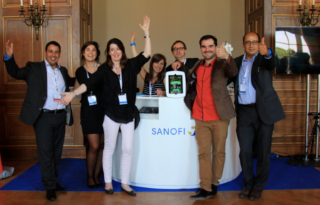 Sanofi Marketing Team at #Doctors20